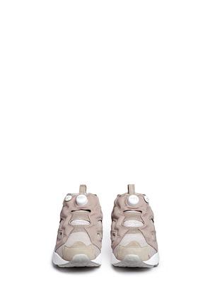 Figure View - Click To Enlarge - Reebok - 'InstaPump Fury OG BK' slip-on sneakers