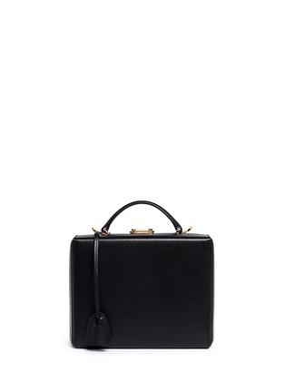 Main View - Click To Enlarge - Mark Cross - 'Grace Box' large saffiano leather trunk