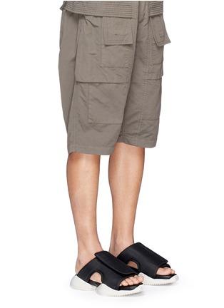 Figure View - Click To Enlarge - Rick Owens x BIRKENSTOCK - x adidas 'RO Clog' sandals