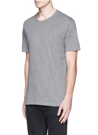 Front View - Click To Enlarge - T By Alexander Wang - Pima cotton jersey T-shirt