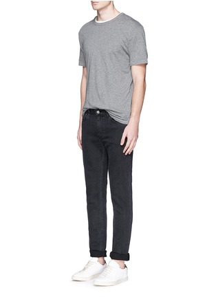 Figure View - Click To Enlarge - T By Alexander Wang - Pima cotton jersey T-shirt
