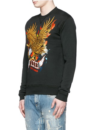 Front View - Click To Enlarge - Dsquared2 - Eagle print sweatshirt