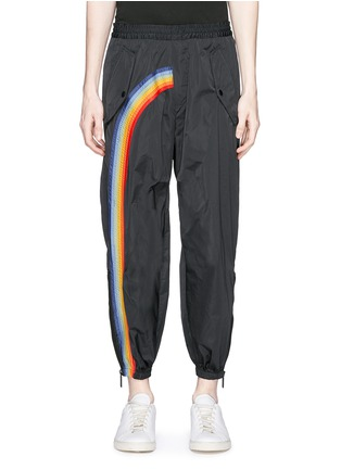 Main View - Click To Enlarge - Dsquared2 - Rainbow appliqué zip cuff pants