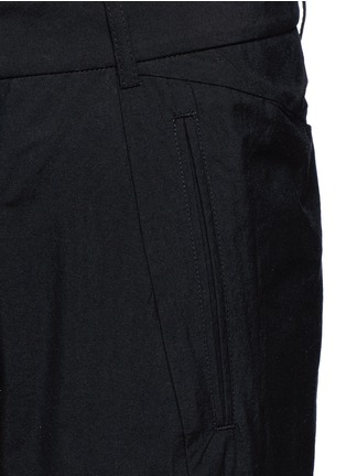 Detail View - Click To Enlarge - Song for the Mute - 'Spiral' cotton blend tapered pants