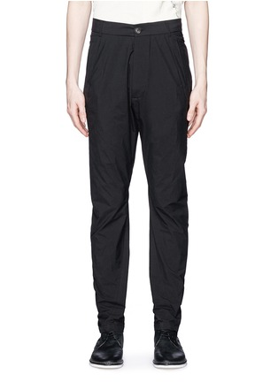 Main View - Click To Enlarge - Song for the Mute - 'Spiral' cotton blend tapered pants