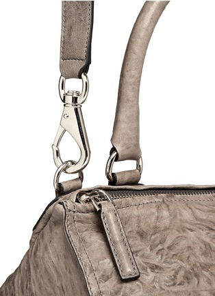 Detail View - Click To Enlarge - Givenchy - 'Pandora' medium washed lambskin leather bag