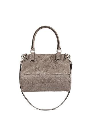 Back View - Click To Enlarge - Givenchy - 'Pandora' medium washed lambskin leather bag
