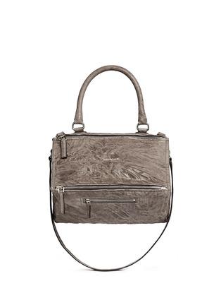 Main View - Click To Enlarge - Givenchy - 'Pandora' medium washed lambskin leather bag