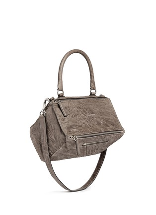 Figure View - Click To Enlarge - Givenchy - 'Pandora' medium washed lambskin leather bag