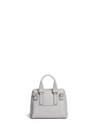 Back View - Click To Enlarge - Givenchy - 'Pandora Pure' mini leather flap bag