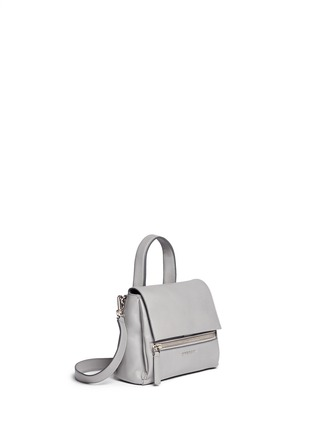 Figure View - Click To Enlarge - Givenchy - 'Pandora Pure' mini leather flap bag