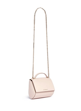 Figure View - Click To Enlarge - GIVENCHY - 'Pandora' mini chain leather Palma shoulder bag