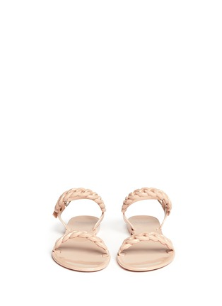 Figure View - Click To Enlarge - GIVENCHY - Chain strap jelly sandals