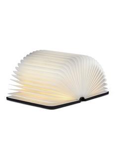 Lumio Mini Lumio+ folding book lamp –Black/Orange
