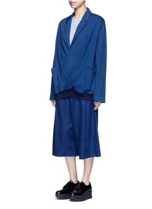 Figure View - Click To Enlarge - FFIXXED STUDIOS - 'Daniel' stripe cotton shirt