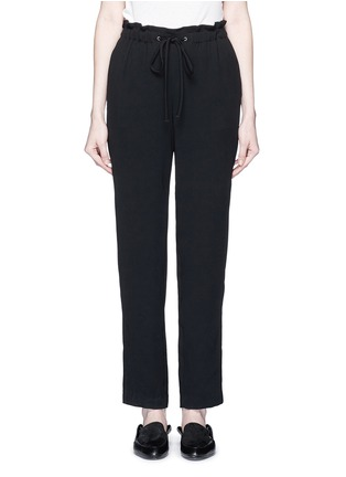 Main View - Click To Enlarge - Theory - 'Tralpin' admiral crepe drawstring pants