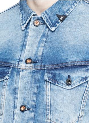 Detail View - Click To Enlarge - DENHAM - 'Amsterdam' denim jacket