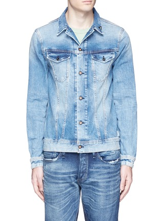 Main View - Click To Enlarge - DENHAM - 'Amsterdam' denim jacket
