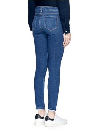 Back View - Click To Enlarge - L'AGENCE - 'The Bridgette' skinny jeans