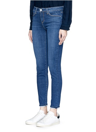 Front View - Click To Enlarge - L'AGENCE - 'The Bridgette' skinny jeans