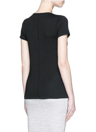 Back View - Click To Enlarge - rag & bone/JEAN - 'Base' crew neck T-shirt