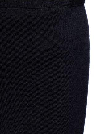 Detail View - Click To Enlarge - AZZEDINE ALAÏA - 'Supreme' wool blend leggings