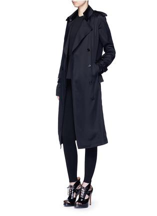 Figure View - Click To Enlarge - AZZEDINE ALAÏA - 'Supreme' wool blend leggings