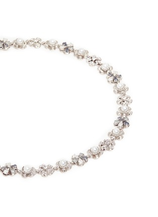 Detail View - Click To Enlarge - Erickson Beamon - 'Til Death Do Us Part' Swarovski crystal glass pearl headband