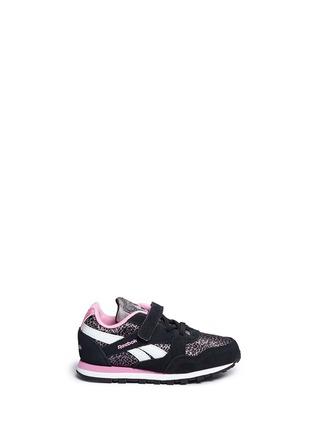 Main View - Click To Enlarge - Reebok - 'Jungle Book Bagheera Runner' toddler sneakers