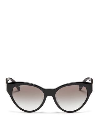 Main View - Click To Enlarge - Prada - Acetate cat eye sunglasses