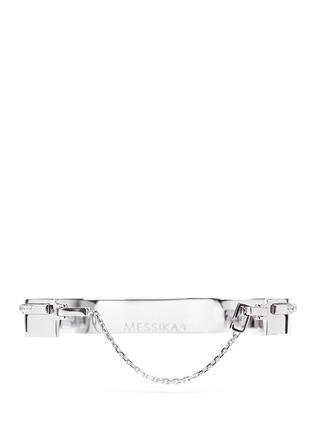 Detail View - Click To Enlarge - Messika - 'Kate' diamond 18k white gold bangle
