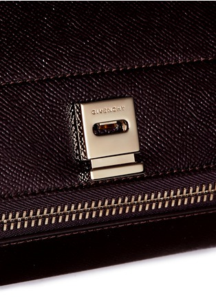 Detail View - Click To Enlarge - Givenchy - 'Pandora Box' mini saffiano patent leather bag