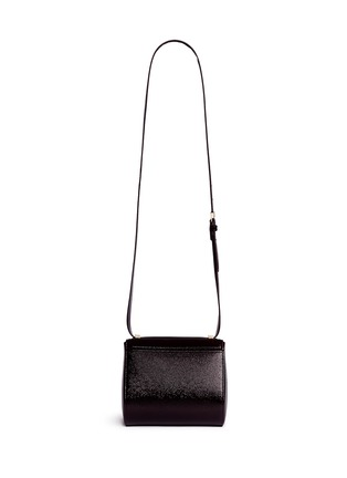 Back View - Click To Enlarge - Givenchy - 'Pandora Box' mini saffiano patent leather bag
