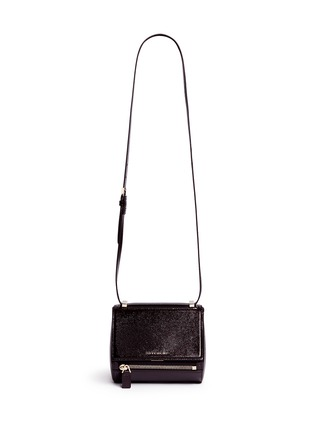 Main View - Click To Enlarge - Givenchy - 'Pandora Box' mini saffiano patent leather bag