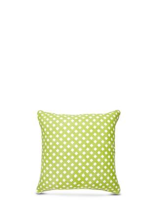 Main View - Click To Enlarge - Jonathan Adler - Bobo linen cushion