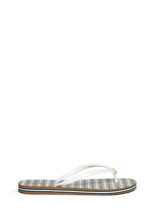Main View - Click To Enlarge - Tory Burch - 'Thin' Ravenna print flip flops