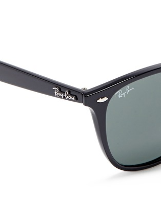 Detail View - Click To Enlarge - Ray-Ban - 'RB4258' acetate square sunglasses