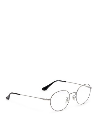 Figure View - Click To Enlarge - Ray-Ban - 'RB6369' round optical glasses