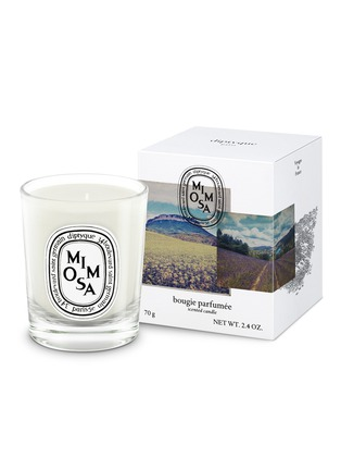 Main View - Click To Enlarge - DIPTYQUE - Mimosa Scented Mini Candle 70g