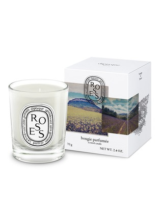 Main View - Click To Enlarge - diptyque - Roses Scented Mini Candle 70g