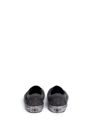 Back View - Click To Enlarge - Vans - 'Classic' washed paisley print skate slip-ons