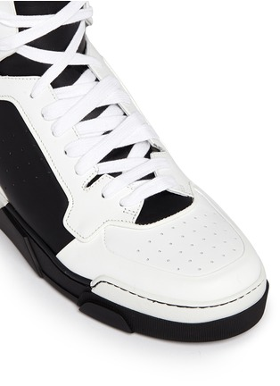 Detail View - Click To Enlarge - Givenchy - 'Tyson II' leather high top sneakers