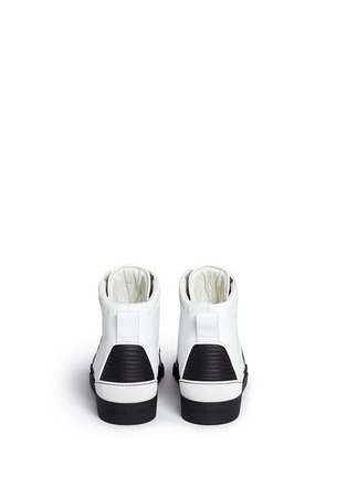 Back View - Click To Enlarge - Givenchy - 'Tyson II' leather high top sneakers