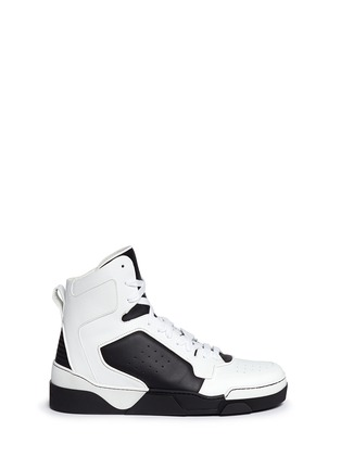 Main View - Click To Enlarge - Givenchy - 'Tyson II' leather high top sneakers