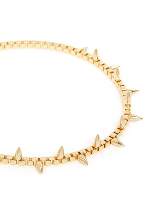 Detail View - Click To Enlarge - Joomi Lim - 'Love Thorn' spike box chain necklace
