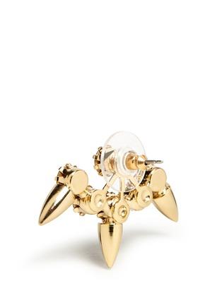 Detail View - Click To Enlarge - Joomi Lim - 'Love Thorn' Swarovski crystal spike stud earrings