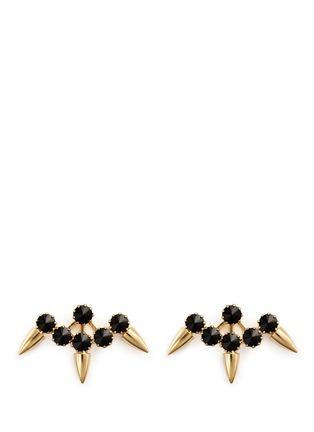 Main View - Click To Enlarge - Joomi Lim - 'Love Thorn' Swarovski crystal spike stud earrings