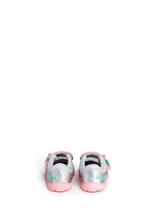 Back View - Click To Enlarge - REEBOK - 'Elsa VentureFlex' toddler Mary Janes