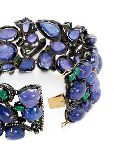 Aishwarya Diamond gemstone 14k gold silver bracelet
