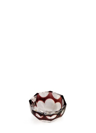 Main View - Click To Enlarge - Moser - Maly overlay glass bowl